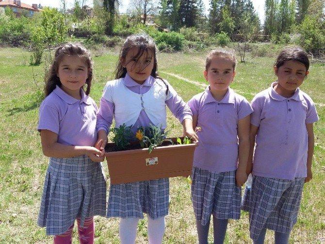 Atatürk İlkokulu'nda 'Okulumuz Bahar Kokuyor' Projesi