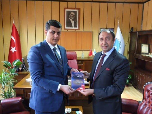 Azerbaycan Başkonsolosu Süleymalı'dan Devlet Konservatuarı Müdürü Çelik'e Ziyaret