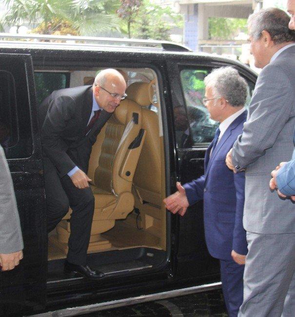 Başbakan Yardımcısı Mehmet Şimşek Rize'de
