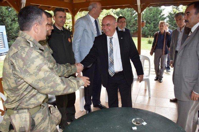 Tekirdağ'da Asker Uğurlama Şöleni