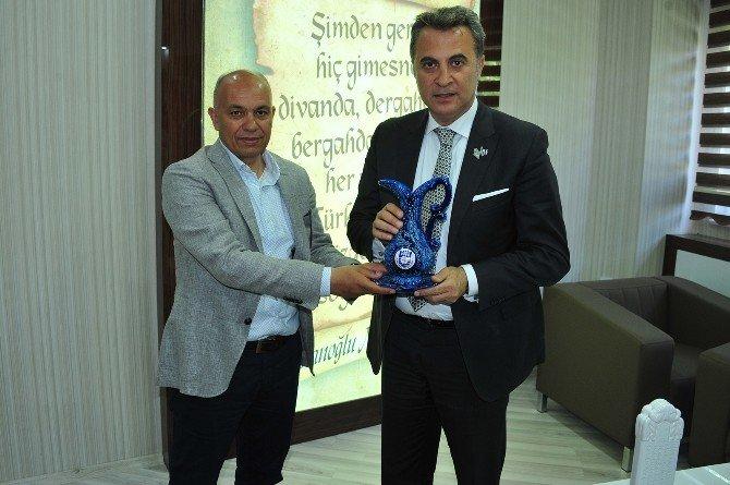 Beşiktaş Başkanı Orman'dan Belediye Başkanı Çalışkan'a Ziyaret