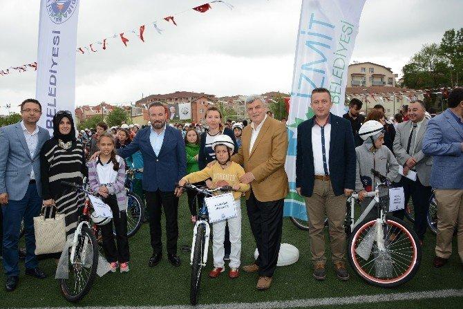 Kandıra'da Bisiklet Sevinci
