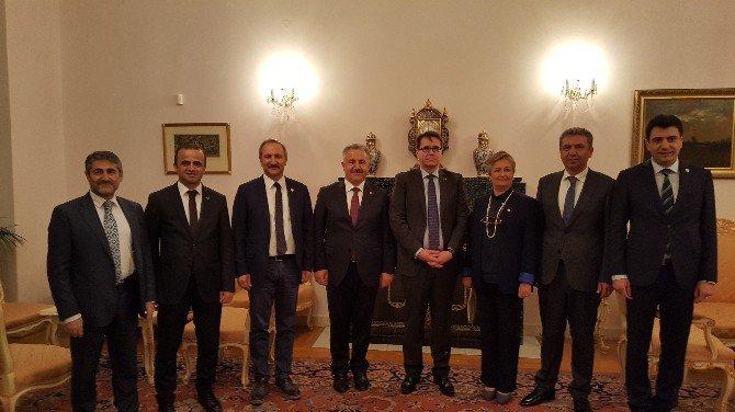 Büyükelçi Kalfa, Milletvekili Arslan'a Resepsiyon Verdi