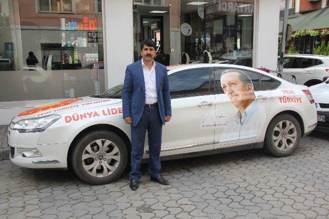 Cumhurbaşkanı'na Destek İçin Türkiye Turuna Çıktı