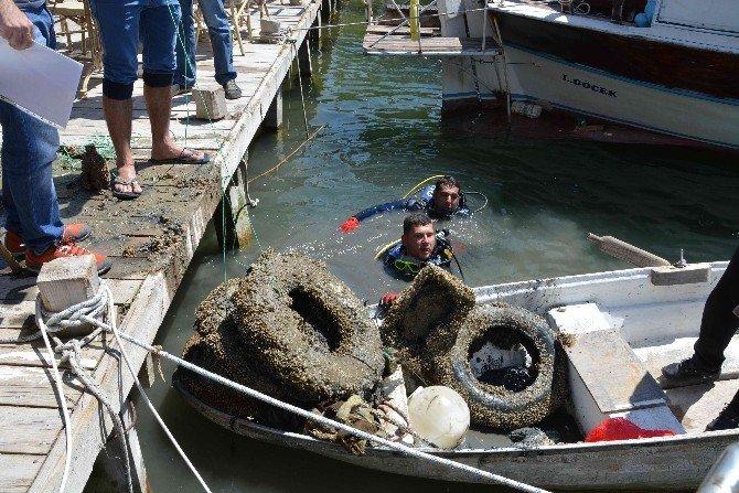 Dalyan'da Kanal Temizliği