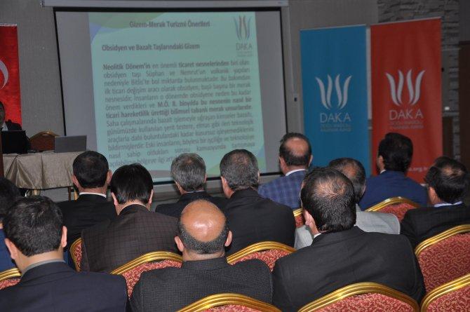 Bitlis'te turizm çalıştayı düzenlendi