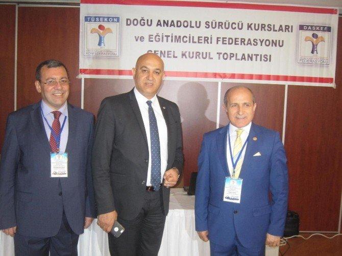 Doğu Anadolu Sürücü Kursları Ve Eğitim Federasyonun Genel Kurulu Yapıldı