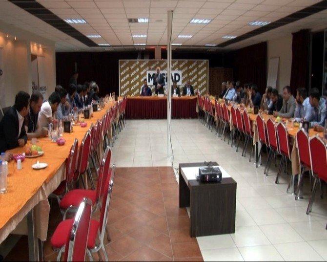 MÜSİAD Dost Meclisi'nin Konuğu Müftü Çimen Oldu