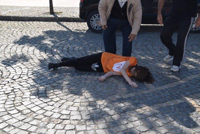Aliağa'da Öğrenciler 23 Nisan İçin Koştu