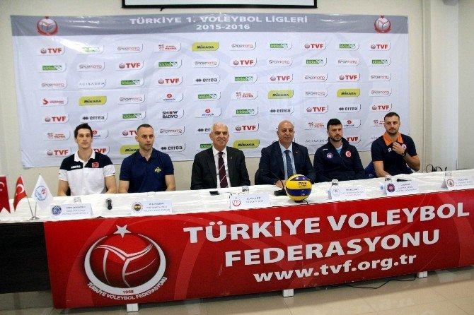 Erkekler Voleybol 1. Ligi Şampiyonu Samsun'da Belli Olacak