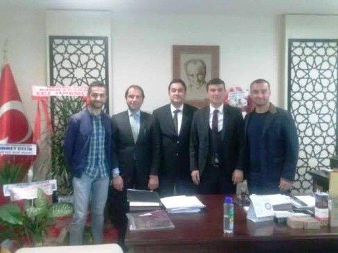 Fagiad'dan Devlet Hastanesi Yöneticilerine Ziyaret