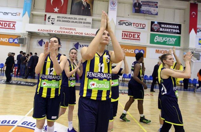 KBL'de son yarı finalist, B.G.D'yi eleyen Fenerbahçe oldu