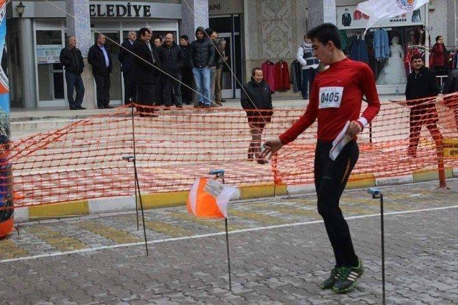 Oryantiring Yarışması'nda Türkiye Birincisi İnönü'den