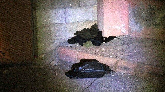 Gaziantep'te Türbe Yanındaki Şüpheli Çanta Korkuttu