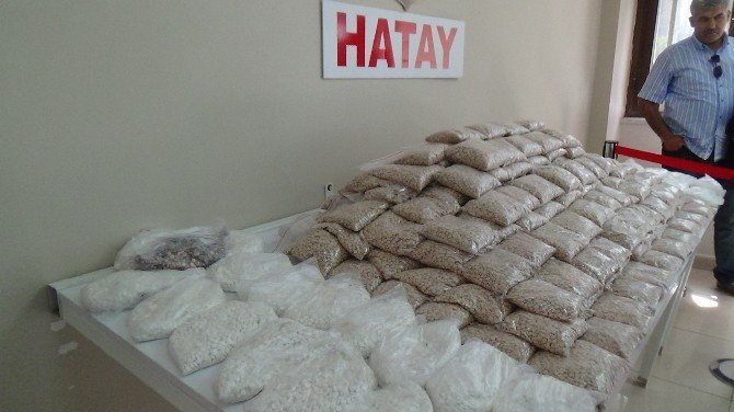Hatay'da Uyuşturucu Hap Operasyonu