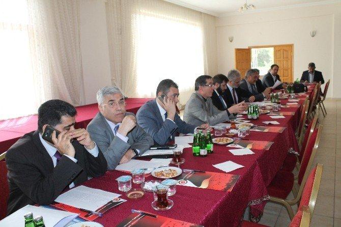 Kastamonu Üniversitesi Senato Toplantısı Tosya'da Yapıldı