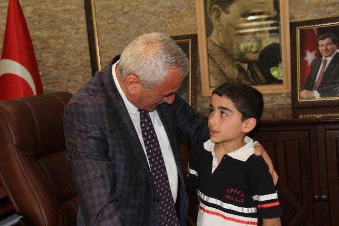 İncesu Belediye Başkanı Zekeriya Karayol 'U 120 Öğrenci Makamında Ziyaret Etti