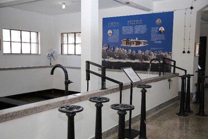 Tarihi Arıtma Tesisi Müze Oldu