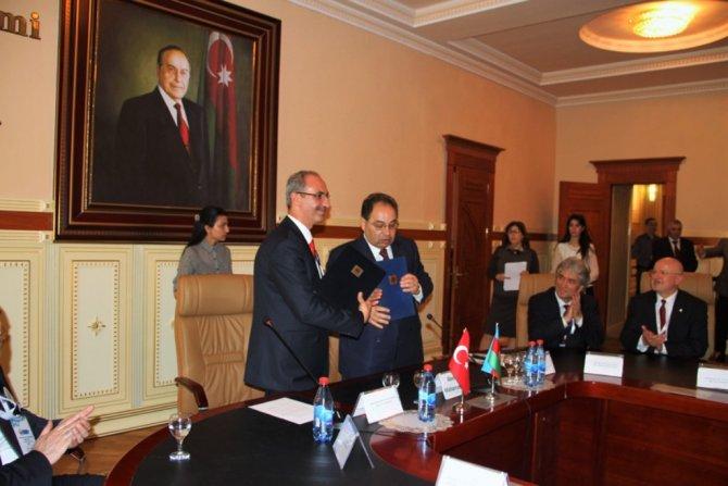 Kırşehir Ahi Evran Üniversitesi KÜNİB eğitim fuarında tanıtıldı
