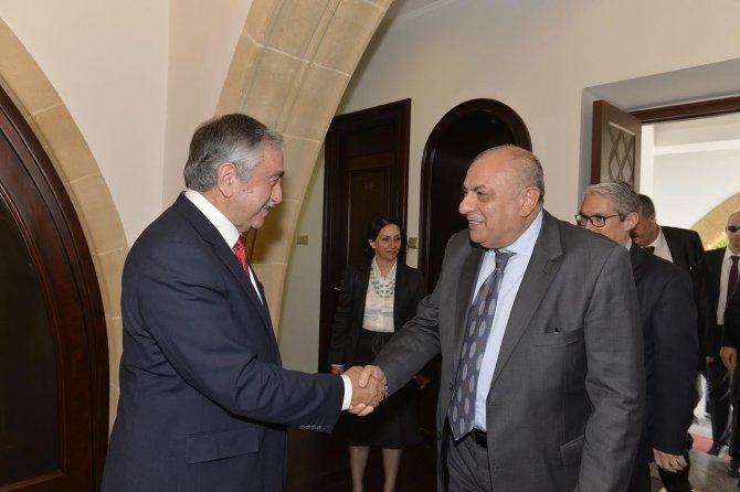 Akıncı, Başbakan Yardımcısı Türkeş'i kabul etti