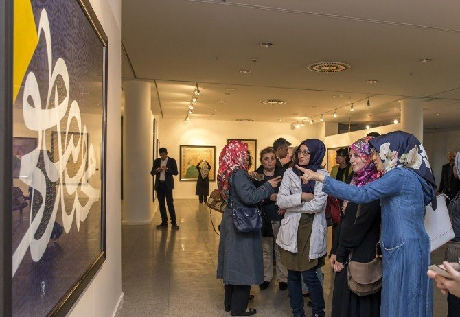 'Aşk-ı Nebi' Küçükçekmece'de Sanatseverlerle Buluştu