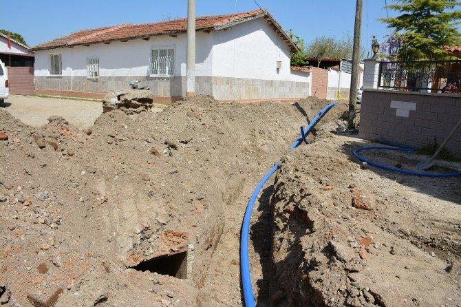 Akhisar'ın İçme Suyu Hatları Yenileniyor