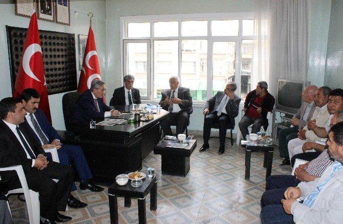 MHP Genel Başkan Yardımcısı Emin Haluk Ayhan Kilis'te