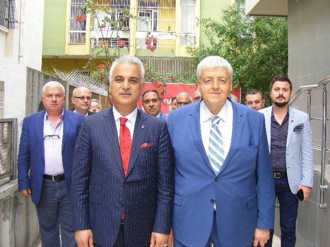 MHP Tekirdağ'dan Adana'ya Ziyaret