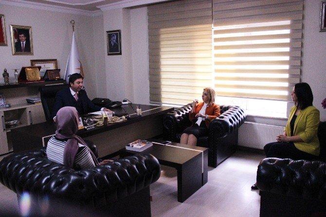 AK Parti Kadın Kolları Genel Merkezi, Kırşehir Teşkilatını Ziyaret Etti