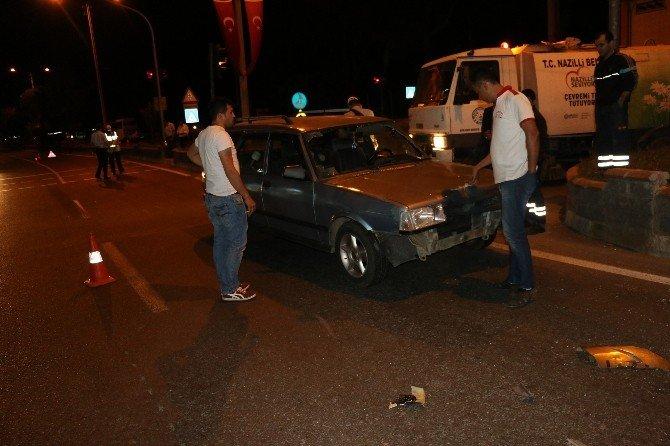 Nazilli'de Trafik Kazası-1 Yaralı