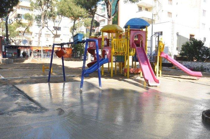 Nazilli'de Kaynanalar Parkı Yenilenmiş Hali İle Hizmete Girdi