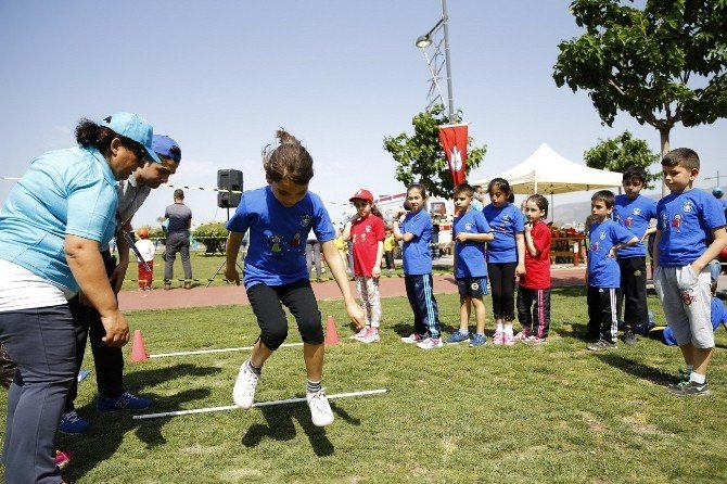 Gündoğdu'da Atletizm Şenliği