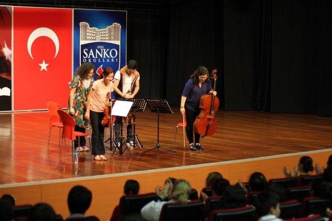 Özel Sanko Okullarında Klasik Müzik Şöleni