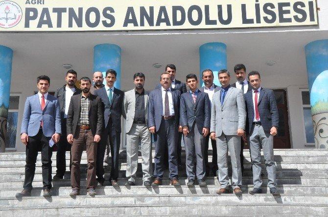 Patnos Sivil Toplum Platformu'ndan İl Birincisine Teşekkür