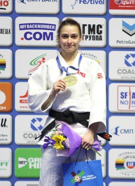 Judoda, Dilara Lokmanhekim Avrupa Üçüncüsü Oldu