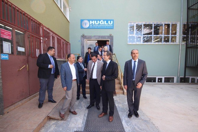 Sanayi Genel Müdürü Kılıçaslan Beyşehir'de