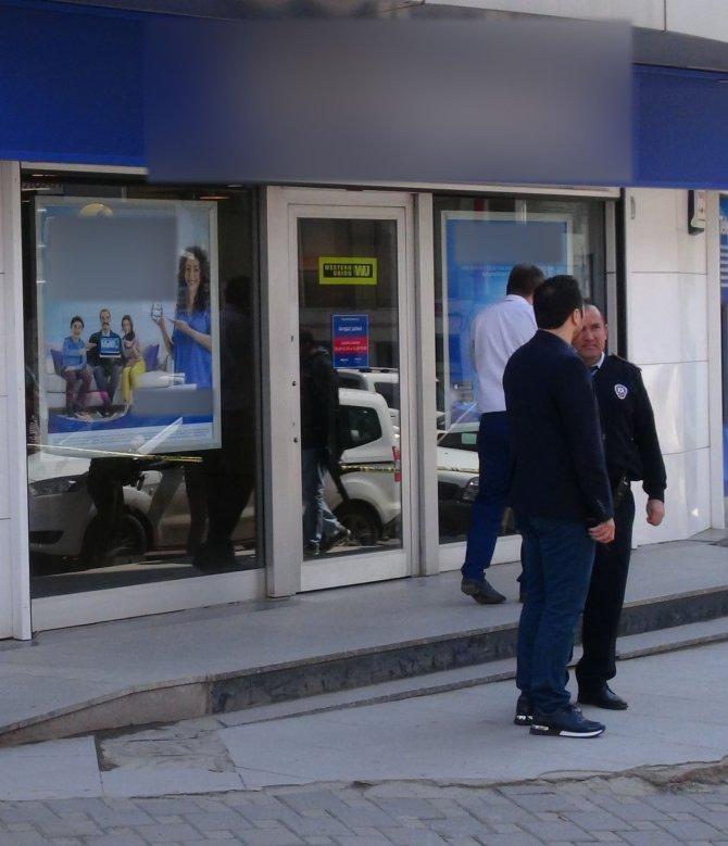 Sancaktepe'de banka soygunu