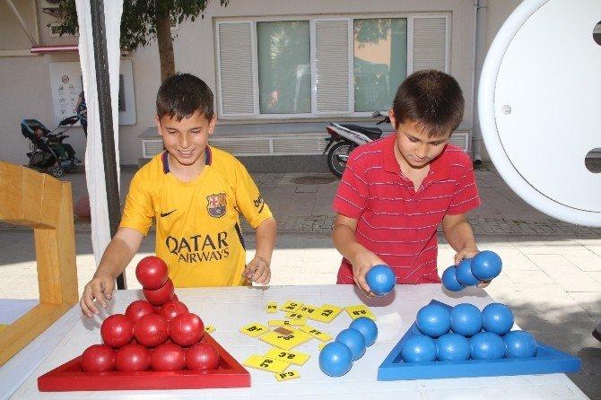 Selçuk'ta Matematik Festivalle Sevdirildi
