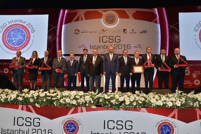 """Başkan Ataç, """"Akıllı Ve Uluslararası Marka Şehirler Paneli""""ne Konuk Oldu"""