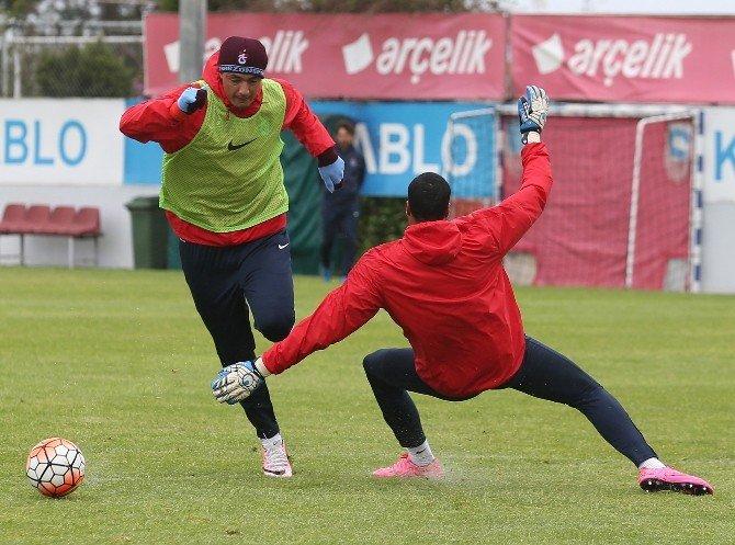 Trabzonsor, Fenerbahçe Maçı Hazırlıklarını Sürdürdü