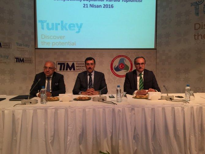 '2015 yılı ihracat rakamları kötümser olmamızı gerektirecek bir noktada değil'