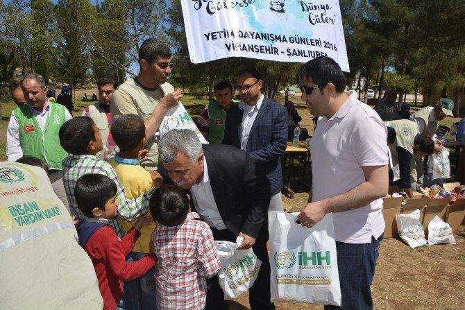 Viranşehir Kaymakamı Dr Huzeyfe Citer Yetimleri Yalnız Bırakmadı