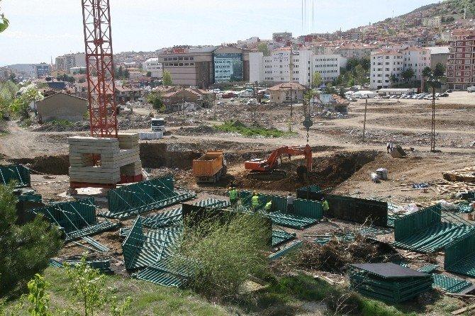 Yozgat Eski Sanayi Sitesinde Kentsel Dönüşüm İnşaatı Başladı
