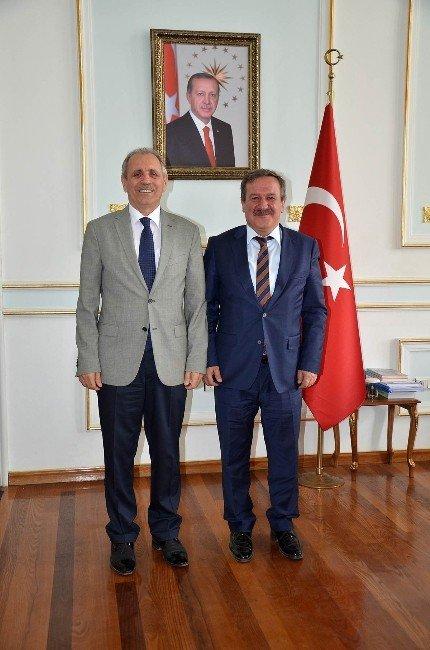 Kyk Genel Müdür Yardımcısı Er'den Vali'ye Ziyaret
