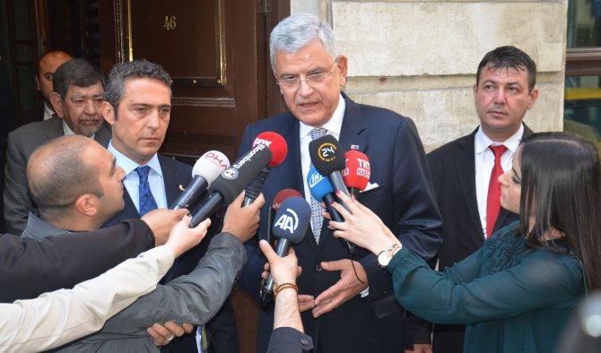 Bakan Bozkır: Ümidimiz; vizenin Haziran sonunda kalkmasıdır