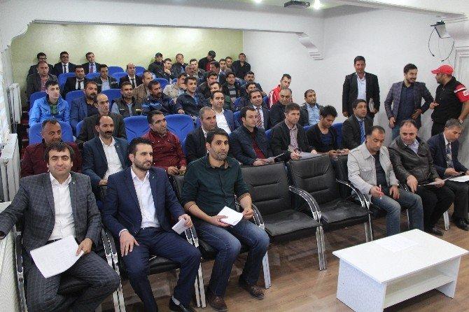 Ağrı'da Kurumlar Arası Futbol Turnuvası Kuraları Çekildi