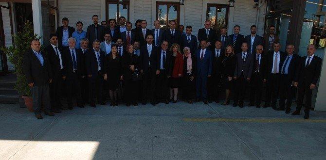AK Parti Çorlu İlçe Teşkilatı Yeni Yönetimi Tanıtıldı