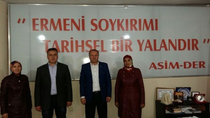 AK Parti'den ASİMDER'e Ziyaret