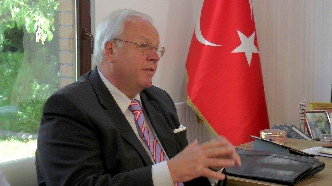 Alman Büyükelçiden Şahin'e Ziyaret