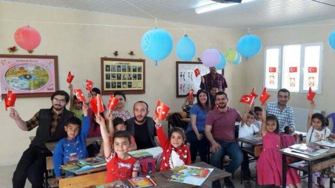 ODER'den köy okullarına kitap yardımı